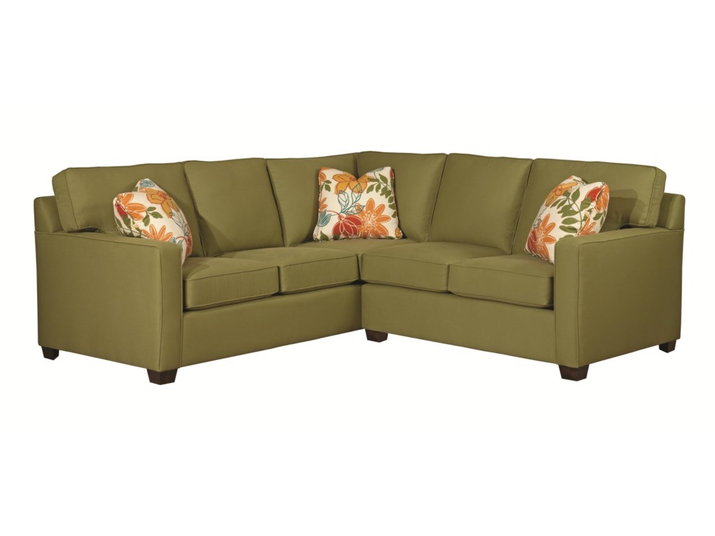 Kincaid Furniture Brooke2 Pc Sectional Sofa