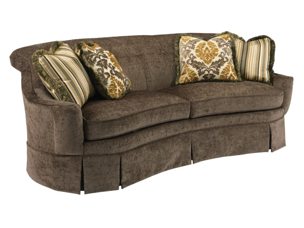 Kincaid Furniture CarsonSkirted Sofa
