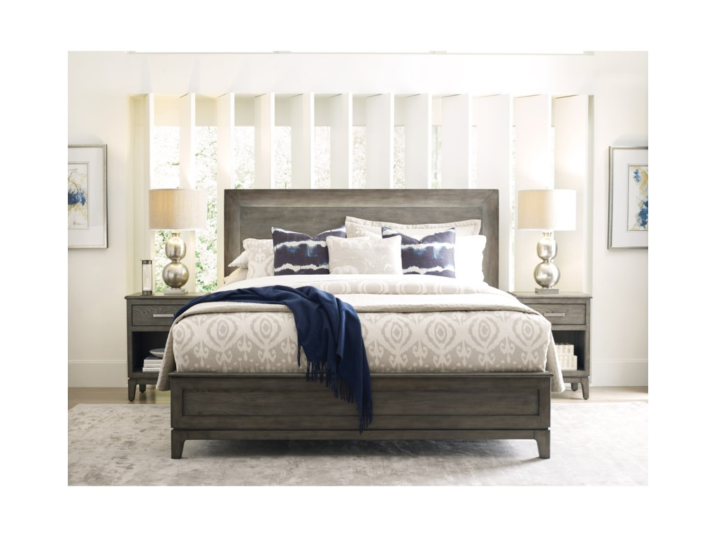 Kincaid Furniture CascadeKline California King Panel Bed