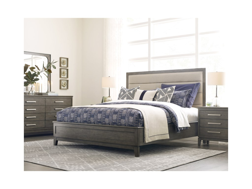 Kincaid Furniture CascadeRoss Queen Upholstered Bed