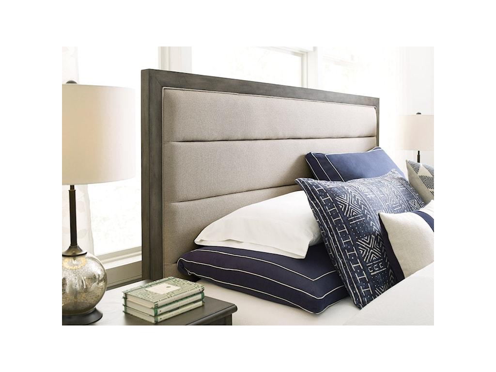 Kincaid Furniture CascadeRoss King Upholstered Panel Bed