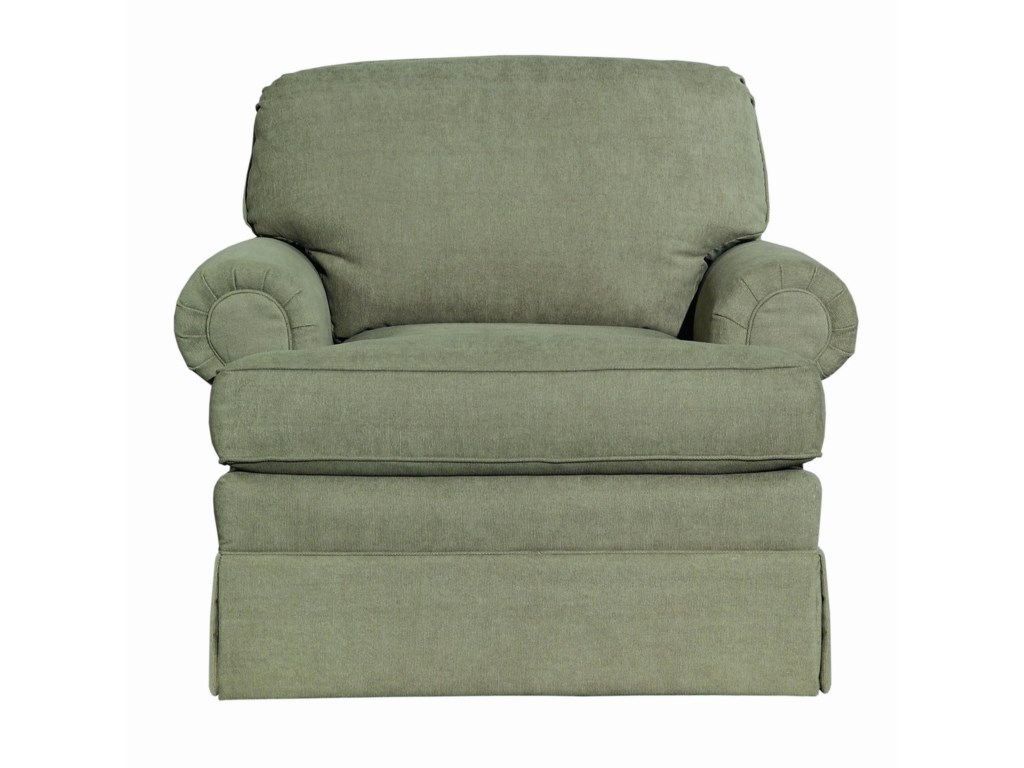 Kincaid Furniture CharlotteSkirted Chair
