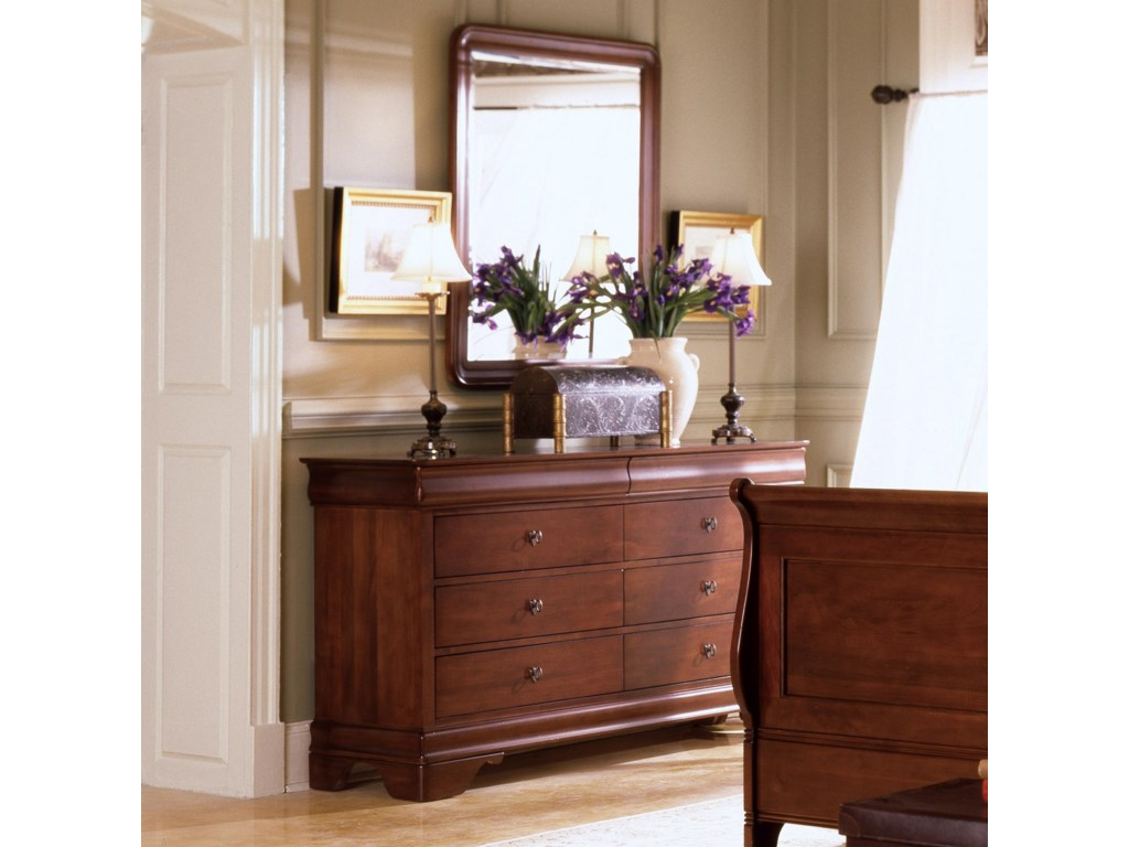 Shown with Drawer Dresser