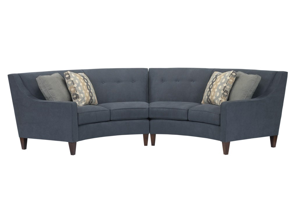 Kincaid Furniture ChelseaTwo-Piece Conversation Sectional