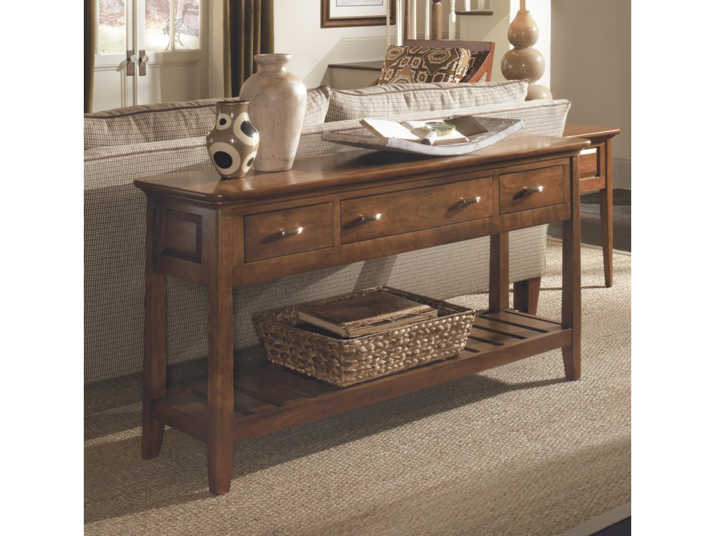 Kincaid Furniture Cherry ParkSofa Table