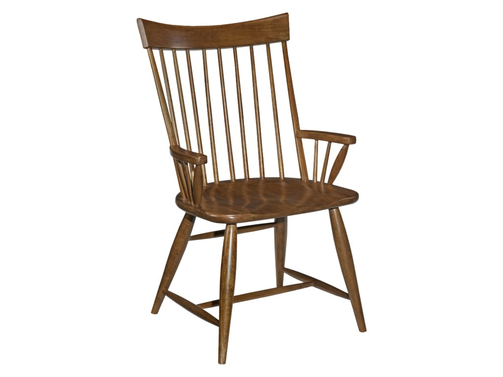Kincaid Furniture Cherry ParkWindsor Arm Chair