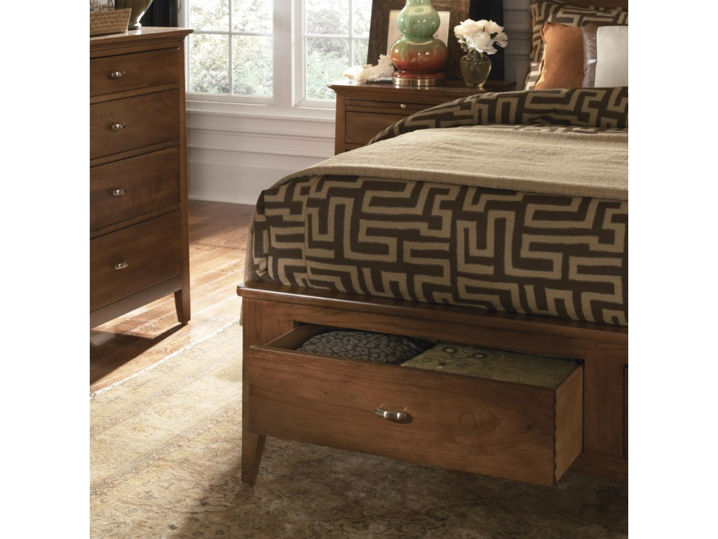 Drawers in the Footboard Offer Must-Have Organization for Any Bedroom