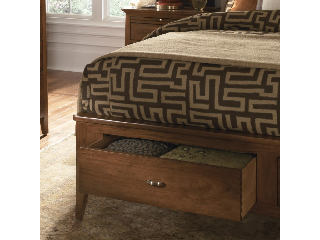 Kincaid Furniture Cherry ParkKing Storage Bed
