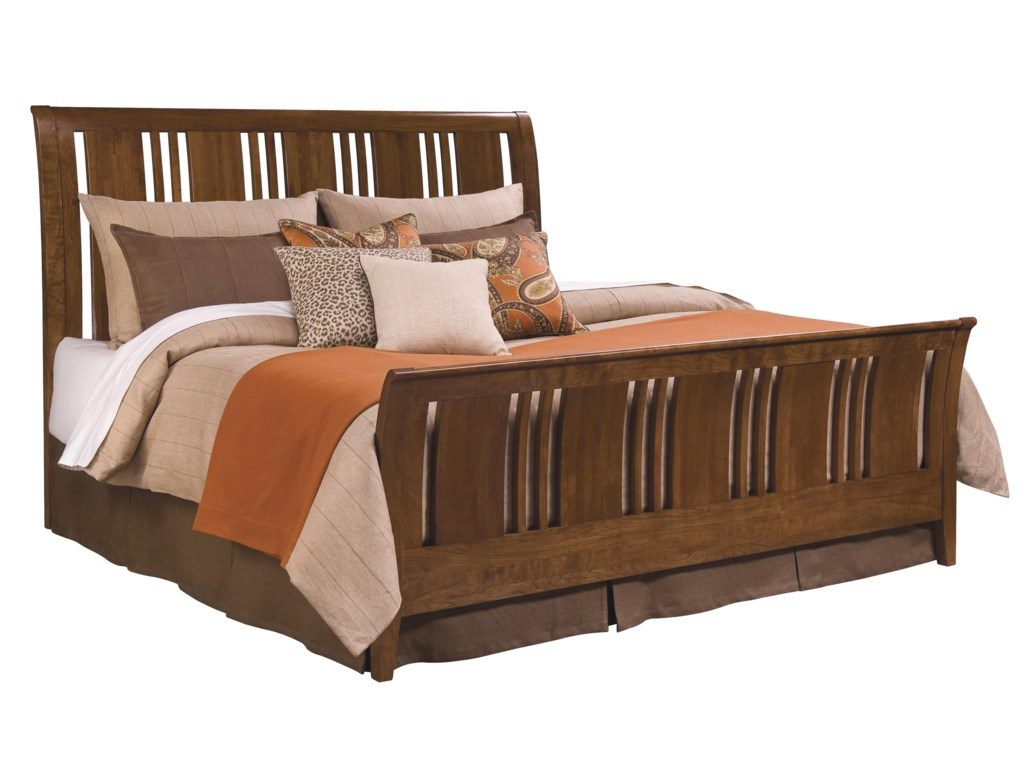 Kincaid Furniture Cherry ParkKing Sleigh Bed