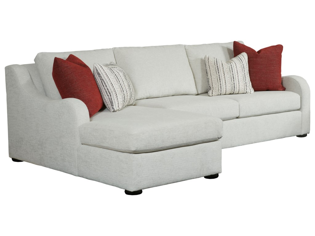 Kincaid Furniture Comfort SelectChaise Sofa