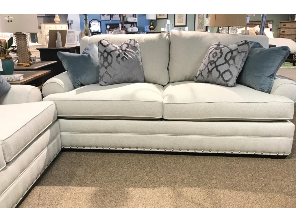 Custom Select Deep Seated Sofa With Sock Arm By Kincaid Furniture At Howell