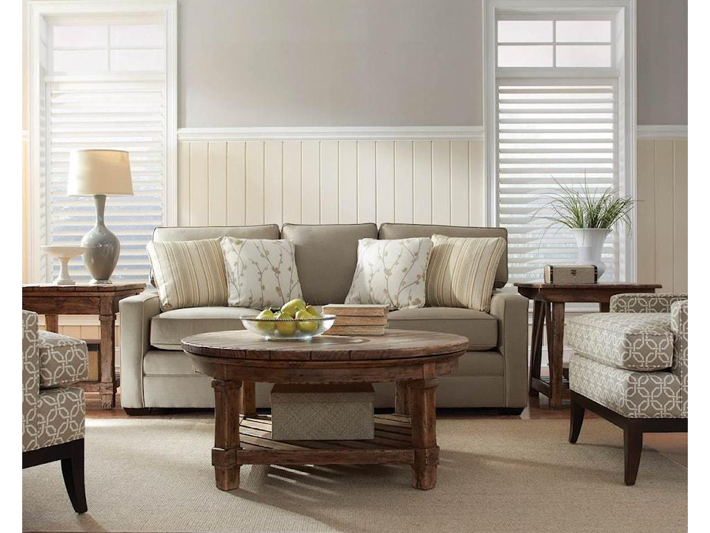 Kincaid Furniture Custom Select Upholstery3-Seater Stationary Sofa