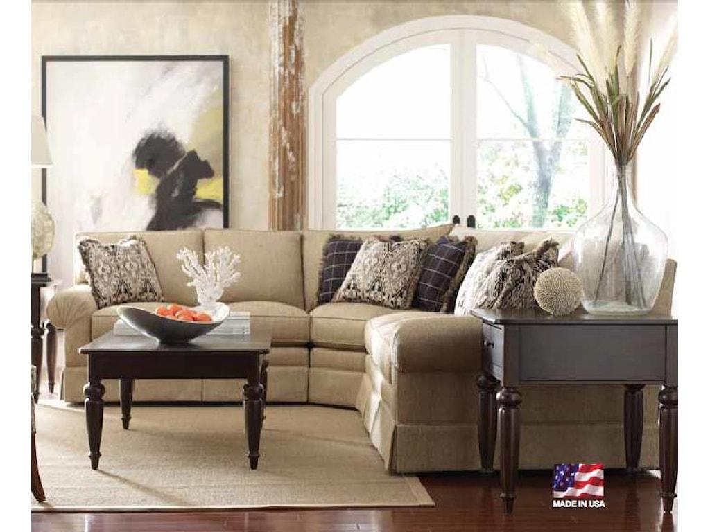 buy online 23b8c c88a8 Kincaid Furniture Custom Select Upholstery Custom 3-Piece ...