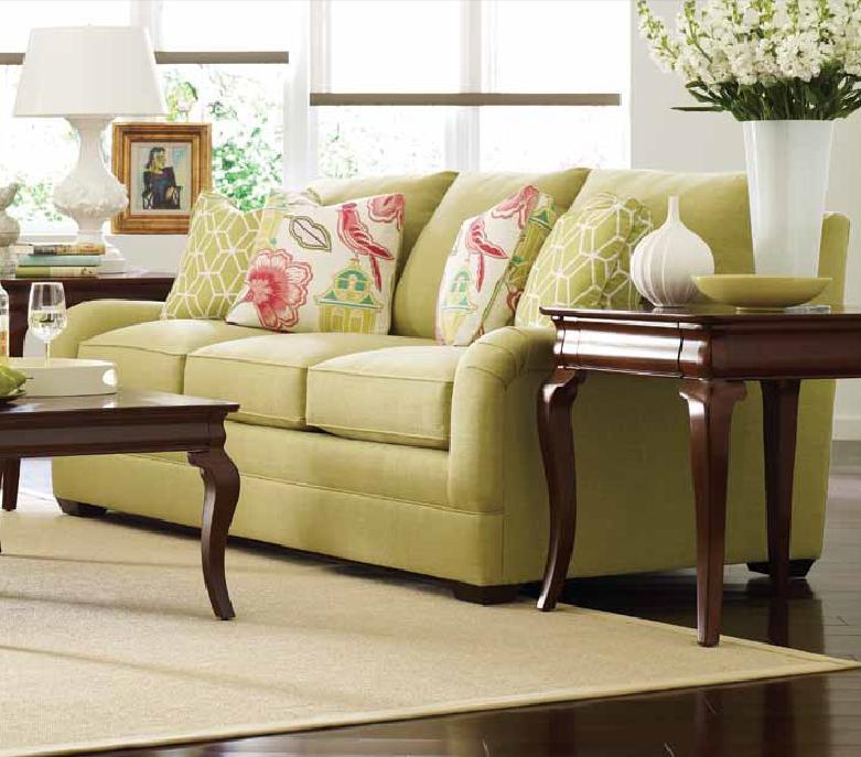 Kincaid Furniture Custom Select Upholsterycustom 3 Seater Stationary Sofa  ... BTRPCGKF
