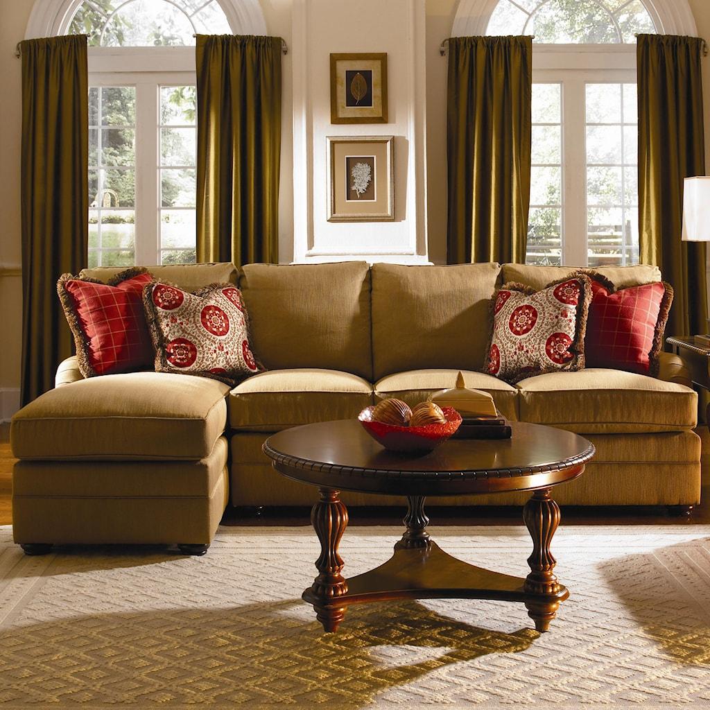 Kincaid furniture custom select upholsterycustom 2 piece sectional