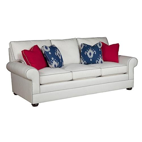 Kincaid Furniture Custom Select Upholstery Custom 3-Seater Stationary Sofa