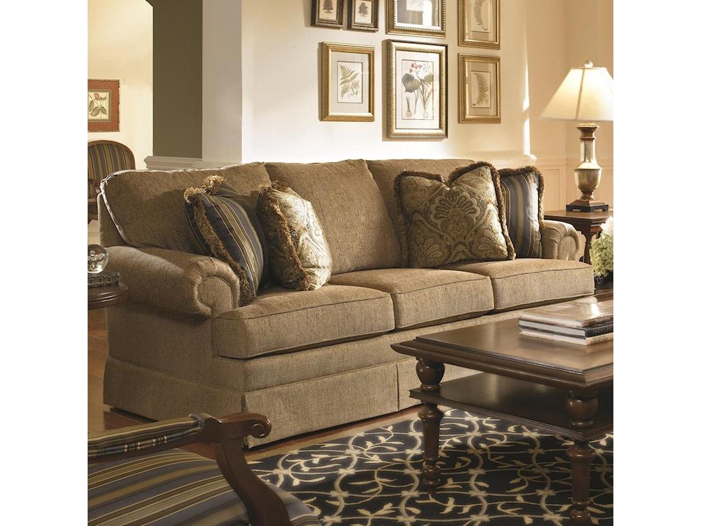 Kincaid Furniture Custom Select UpholsterySmall Sofa