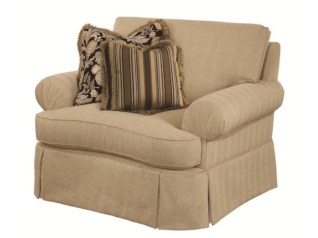 Kincaid Furniture DanburyChair and 1/2