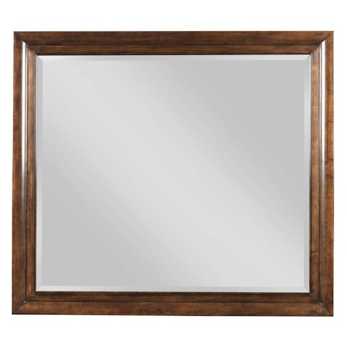 Kincaid Furniture Elise Transitional Bristow Beveled Mirror