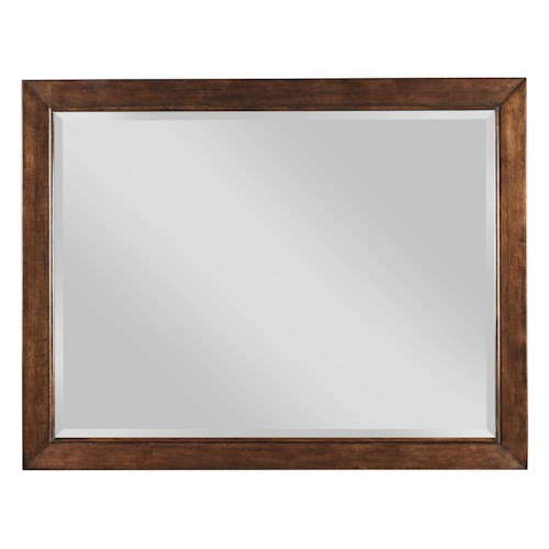 Kincaid Furniture Elise Transitional Luccia Beveled Mirror