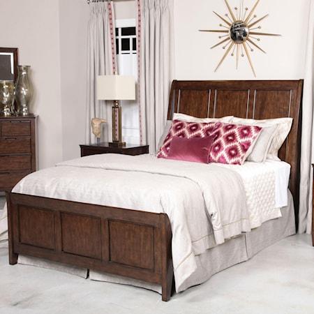 Caris King Sleigh Bed