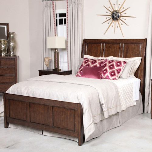 Kincaid Furniture Elise Caris King Sleigh Bed