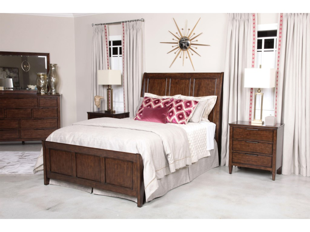 Kincaid Furniture EliseCaris Queen Sleigh Bed