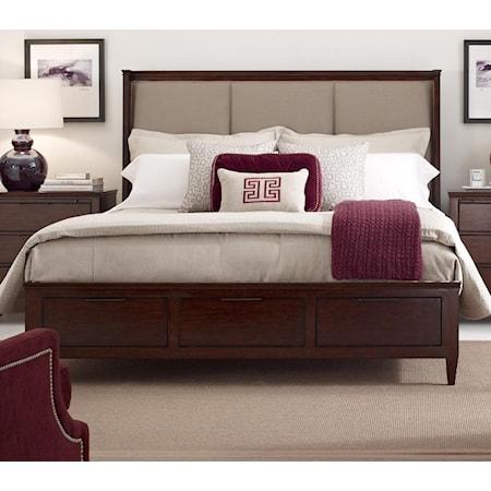 Spectrum King Bed w/ Storage Footboard