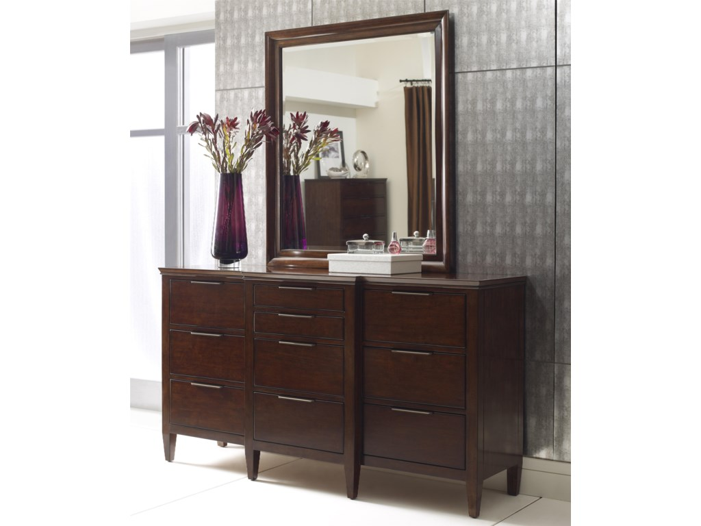 Kincaid Furniture EliseBristow Dresser and Mirror Set