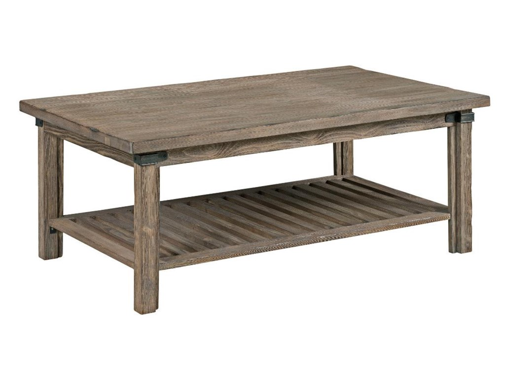 Kincaid furniture foundry 59 023 rustic weathered gray rectangular kincaid furniture foundry 59 023 rustic weathered gray rectangular cocktail table becker furniture world cocktailcoffee tables geotapseo Choice Image