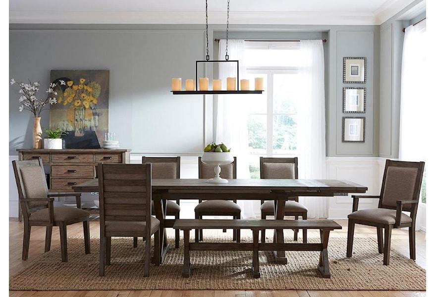 Kincaid Furniture Foundry Eight Piece