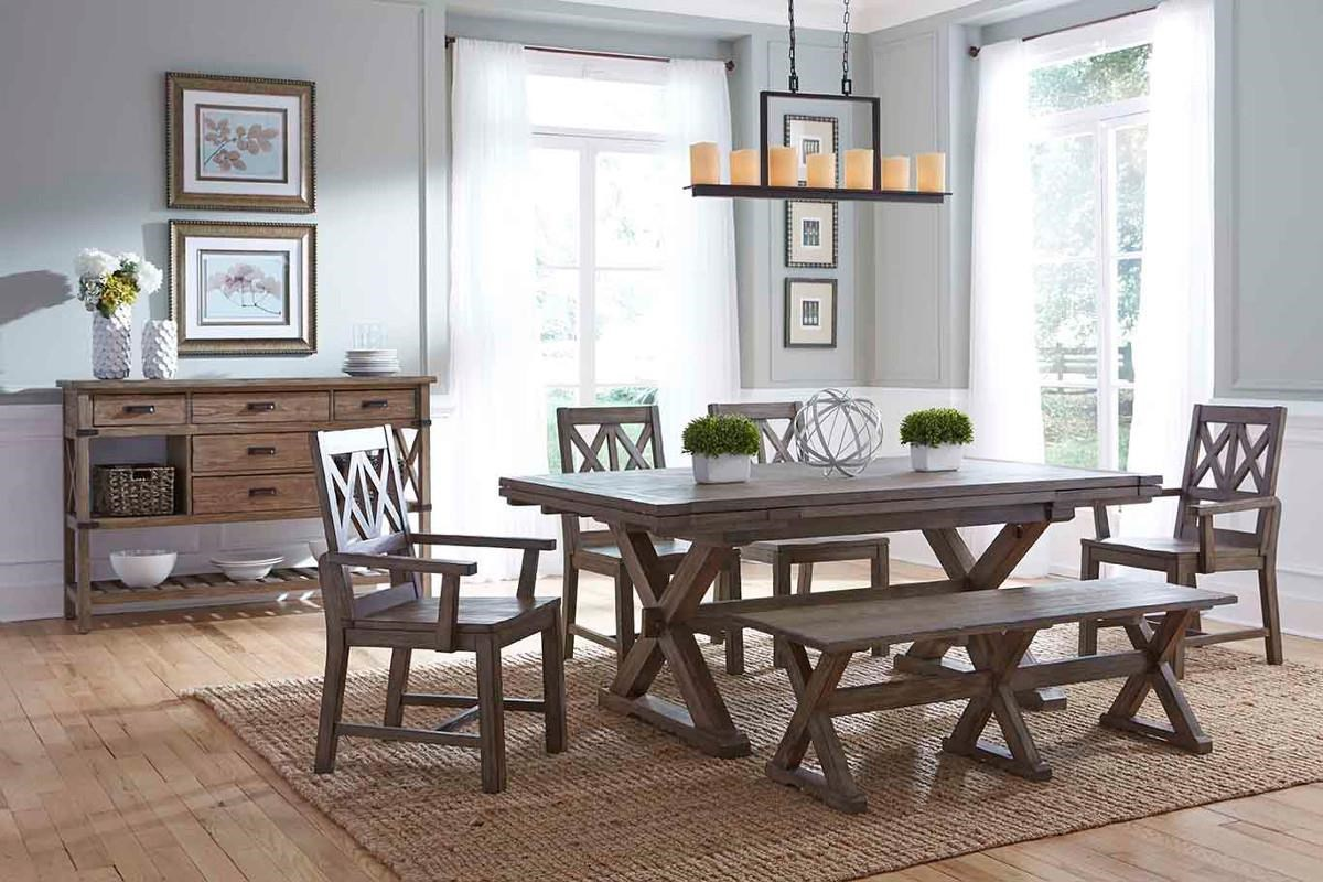 Merveilleux ... Kincaid Furniture FoundrySaw Buck Dining Table