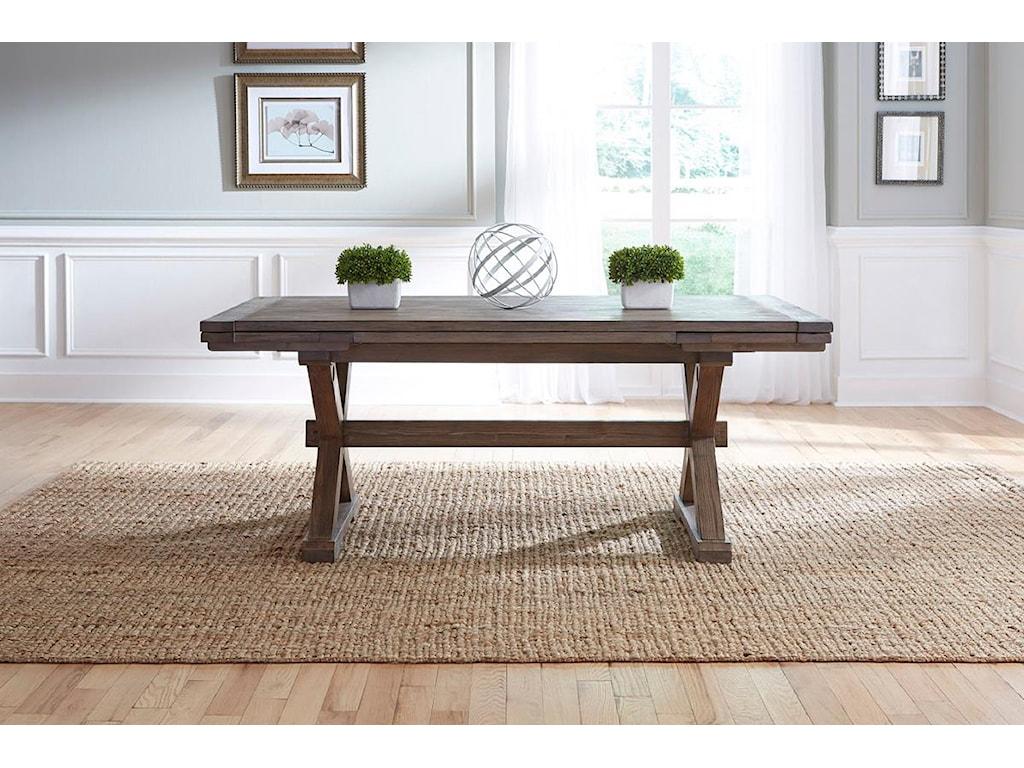 Kincaid Furniture FoundrySaw Buck Dining Table