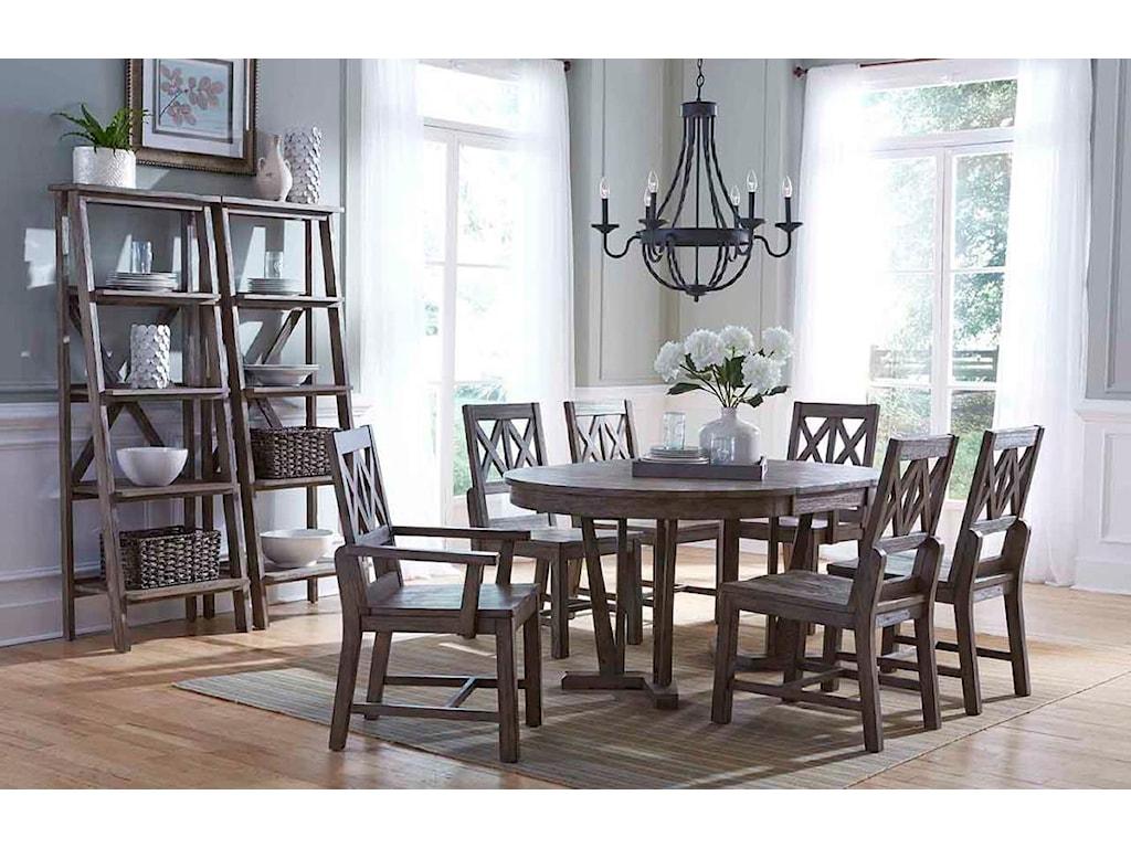 Kincaid Furniture FoundryWood Arm Chair