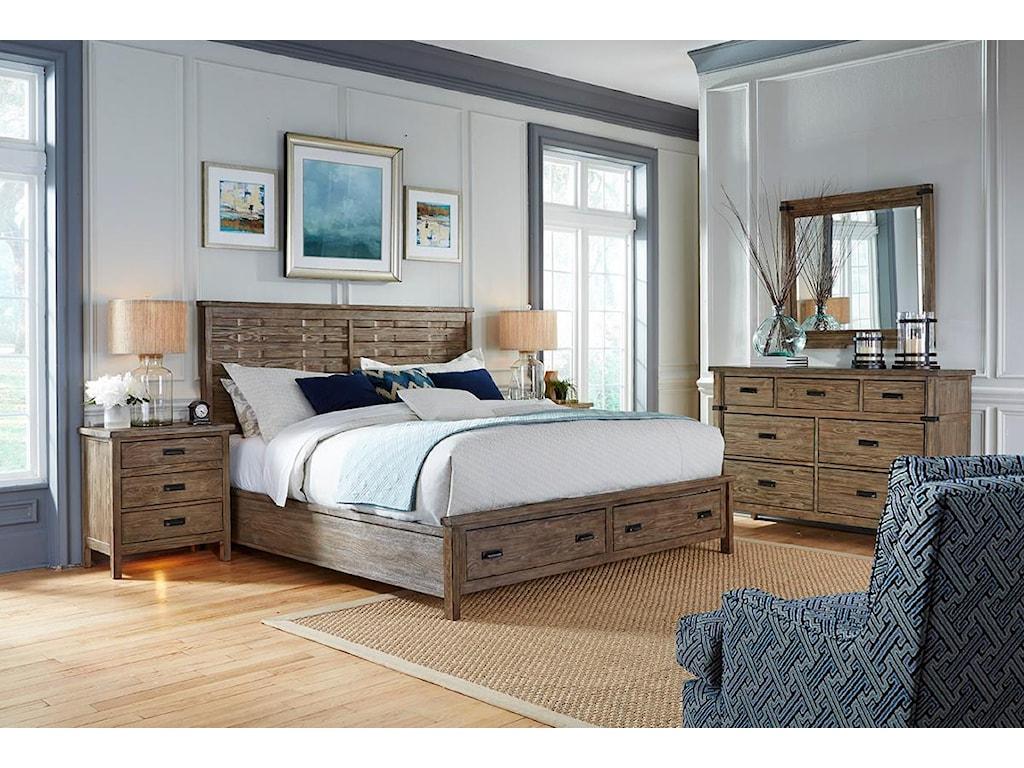 Kincaid Furniture FoundryBureau Mirror