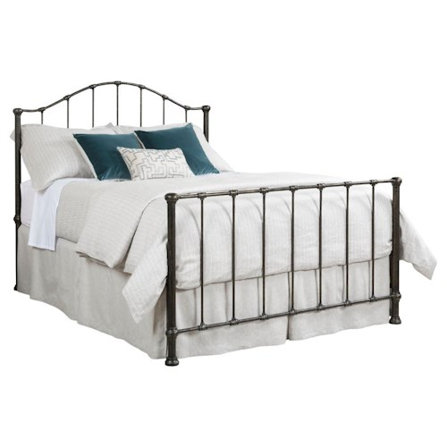 Kincaid Furniture Foundry King Wrought Iron Garden Bed