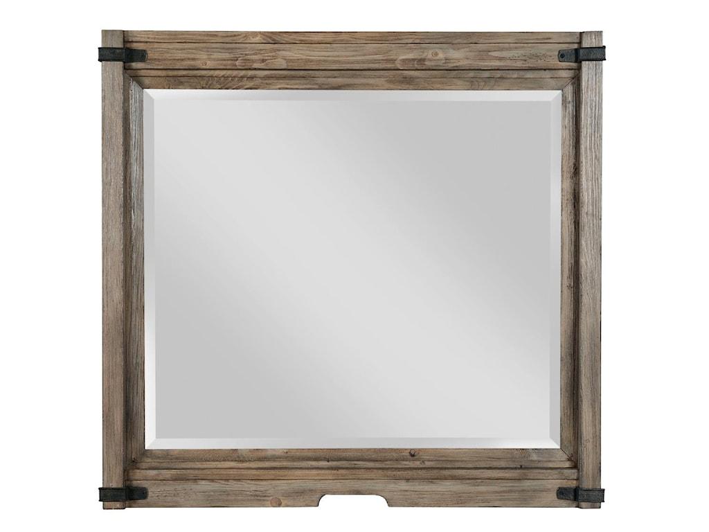 Kincaid Furniture FoundryBureau and Mirror Set
