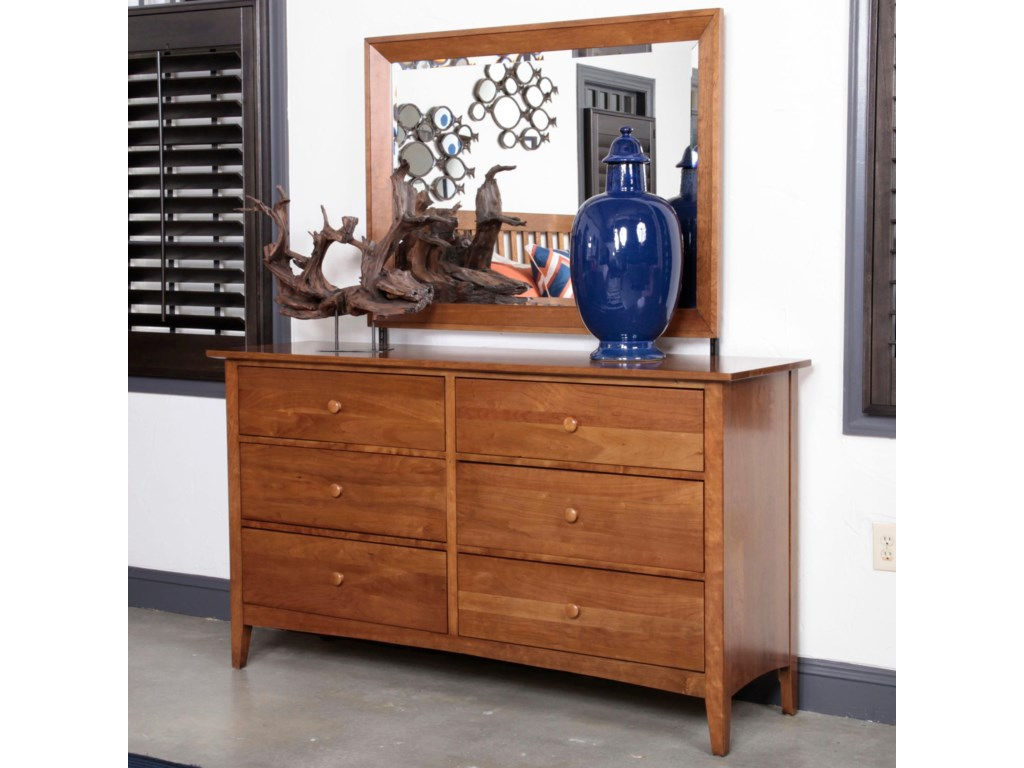 Kincaid Furniture Gatherings Latham Dresser With 6 Drawers And