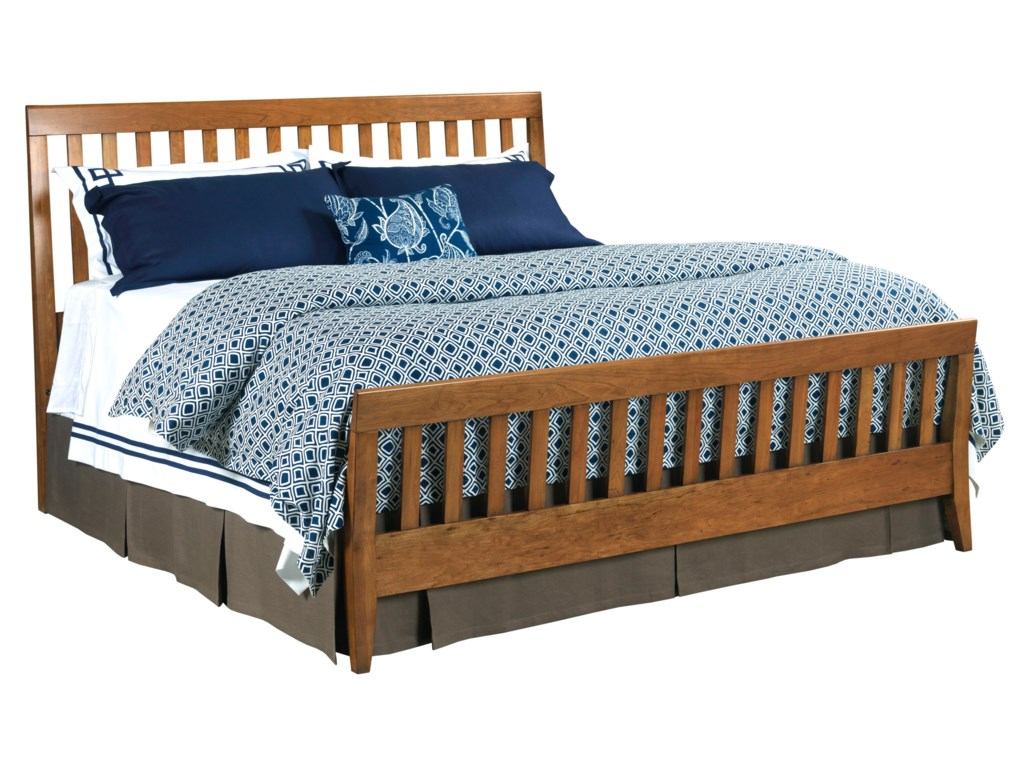 Kincaid Furniture GatheringsCalifornia King Slat Bed