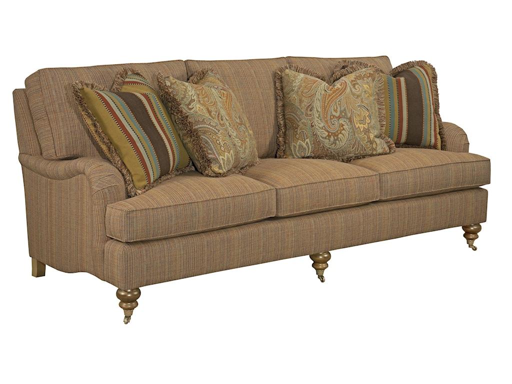 Kincaid Furniture Greenwich3 Over 3 Sofa