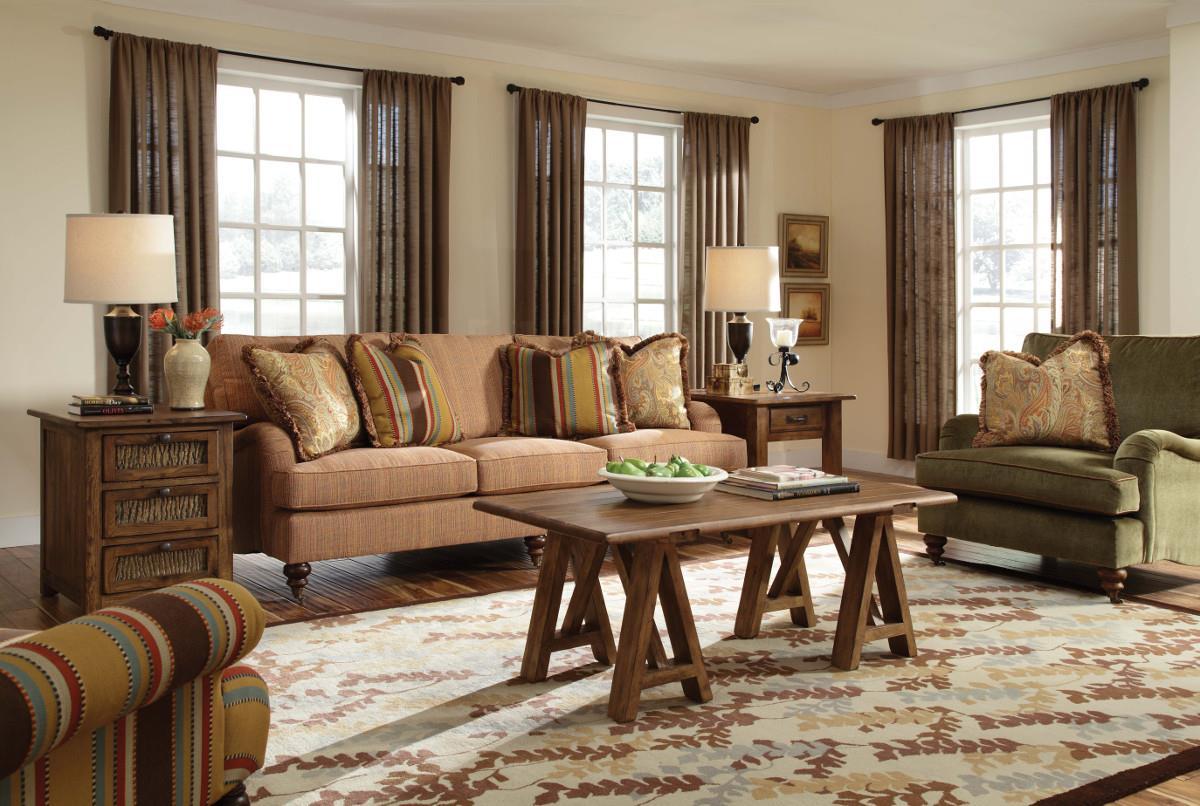 ... Kincaid Furniture Greenwich3 Over 3 Sofa