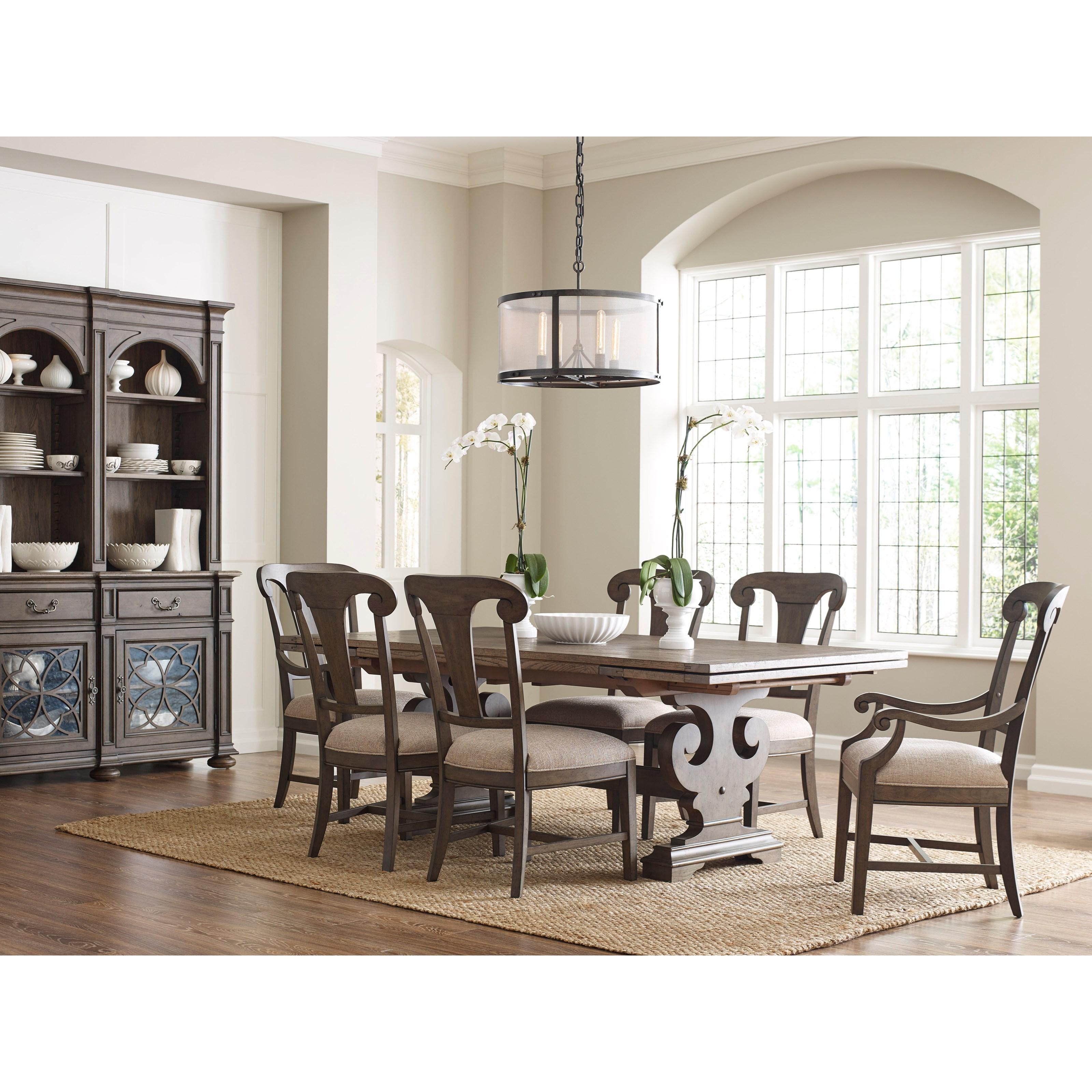 Kincaid Furniture GreysonFormal Dining Room Group