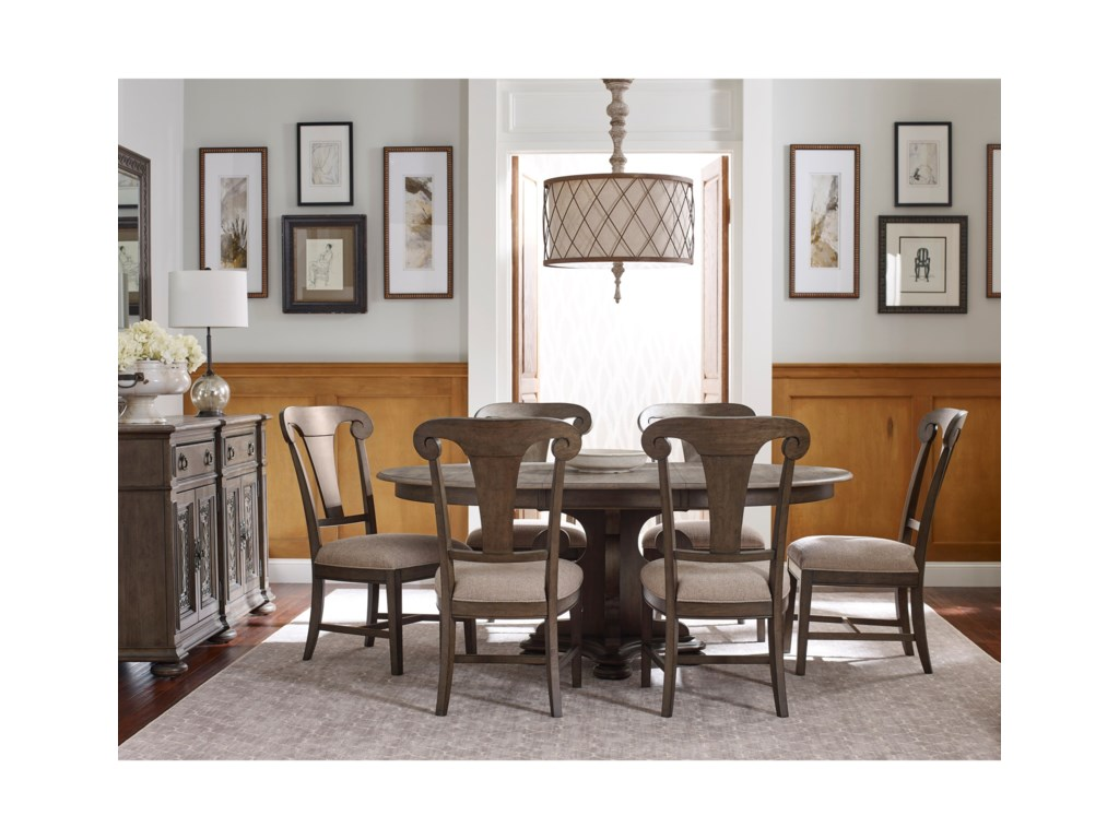 Kincaid Furniture GreysonFormal Dining Room Group