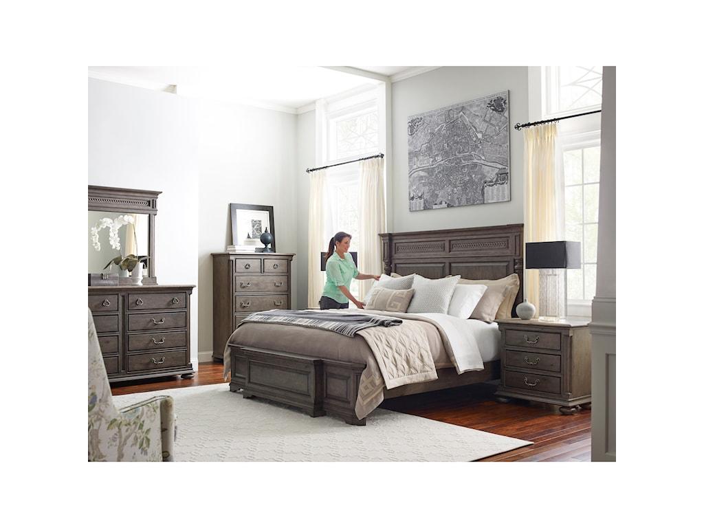 Kincaid Furniture GreysonAldine Three Drawer Nightstand