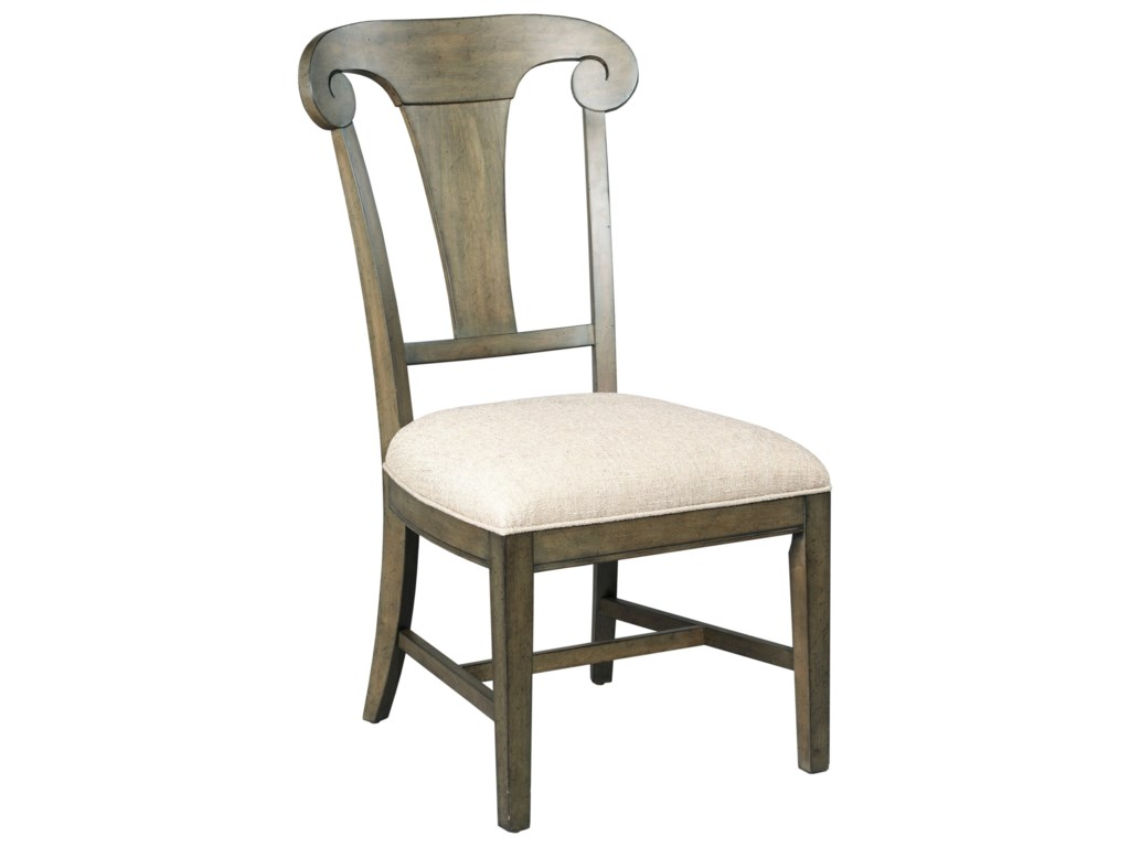 Kincaid Furniture GreysonFulton Splat Back Side Chair