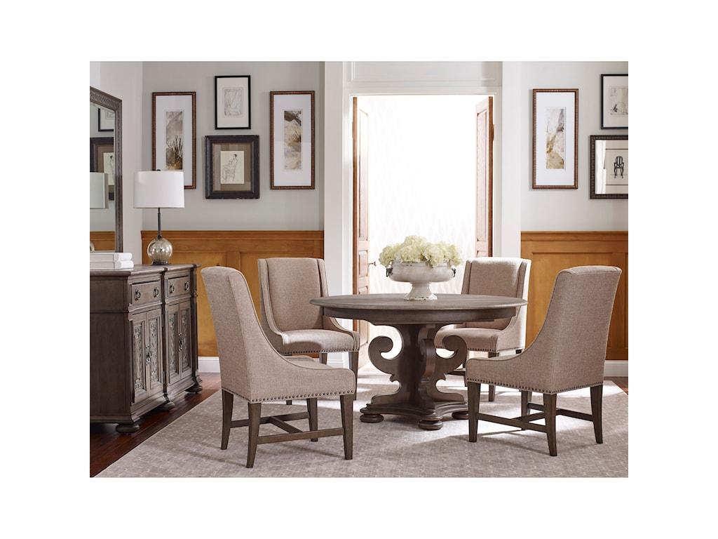 Kincaid Furniture Greyson5 Pc Kitchen Dining Set