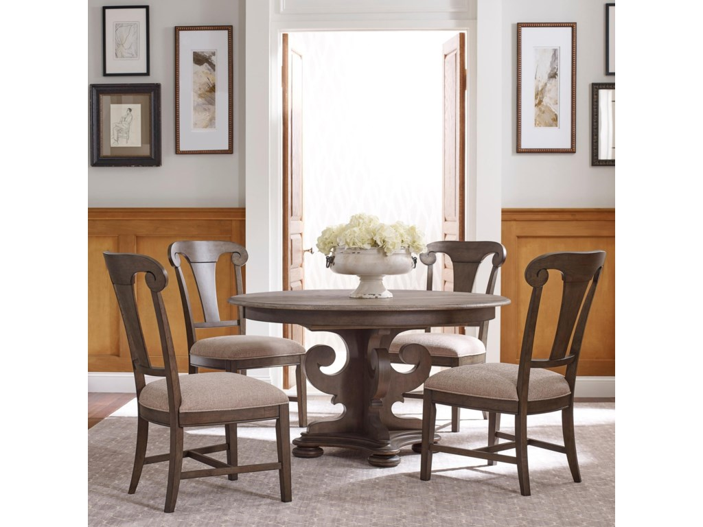 Kincaid Furniture Greyson5 Pc Kitchen Dining Set