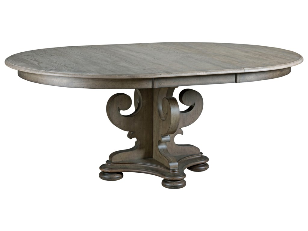 Kincaid Furniture GreysonGrant Round Pedestal Dining Table