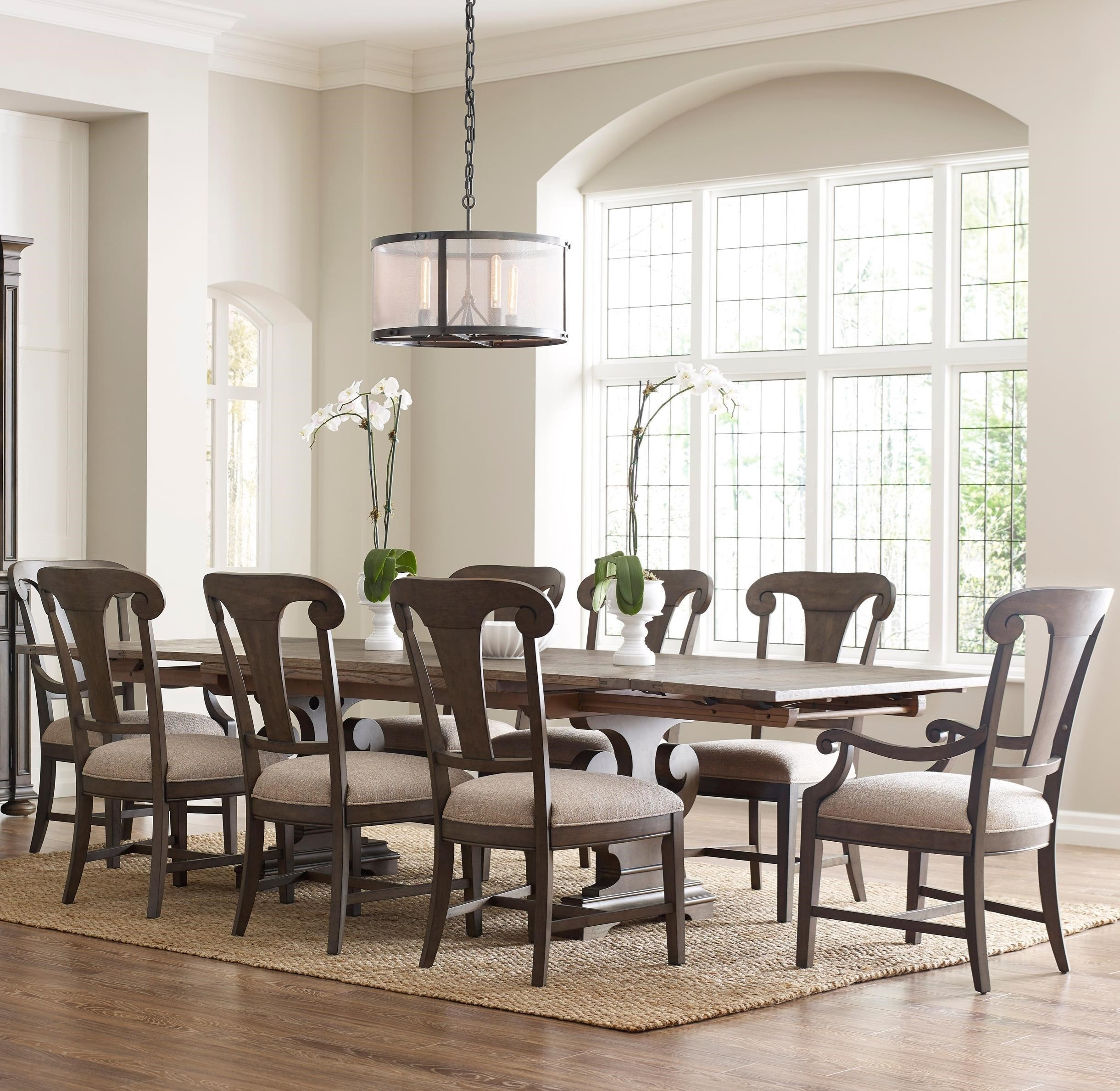 Beau Kincaid Furniture Greyson9 Pc Dining Set ...