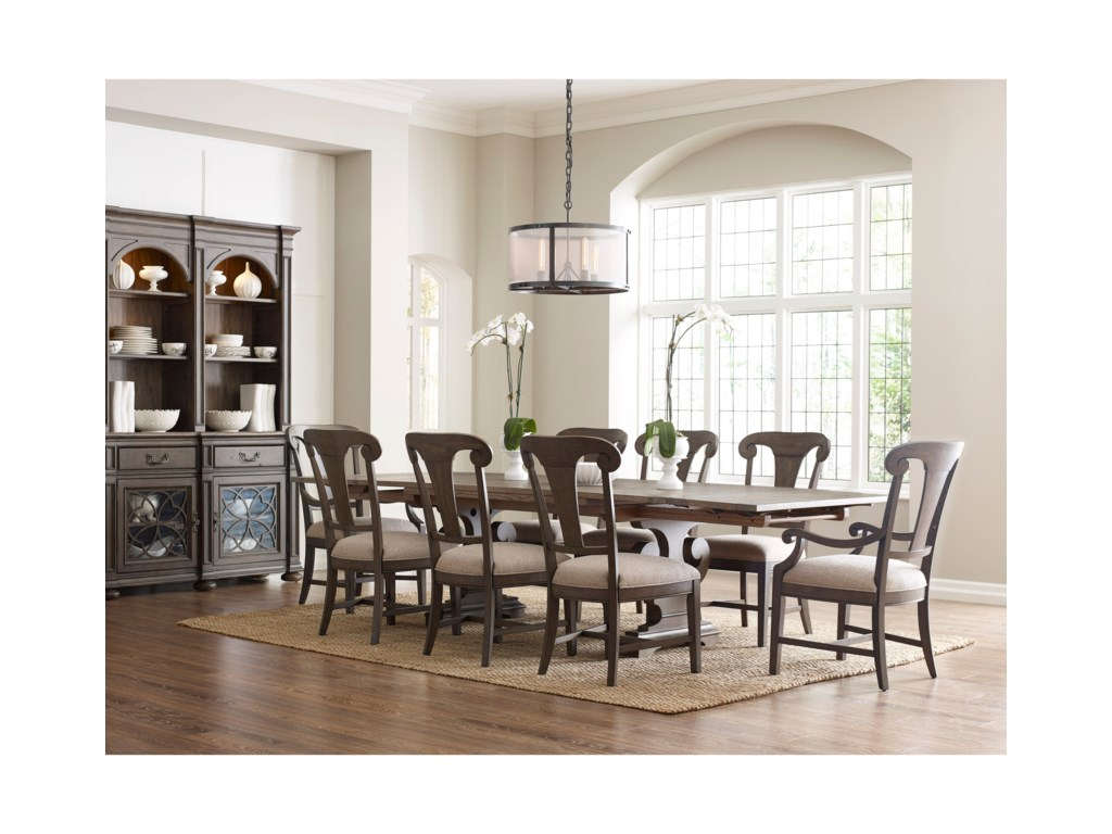 Kincaid Furniture Greyson9 Pc Dining Set